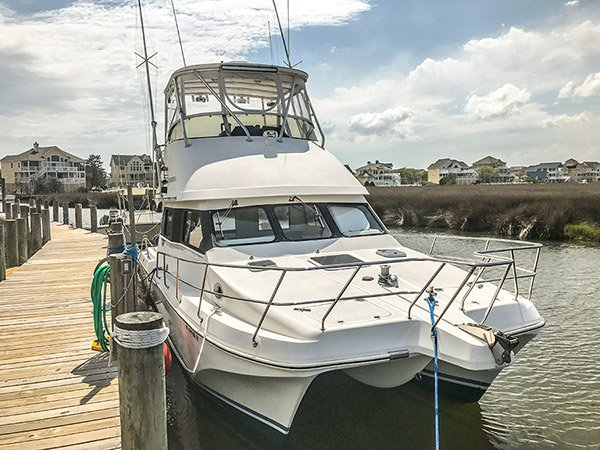 Uptick deep sea fishing charter